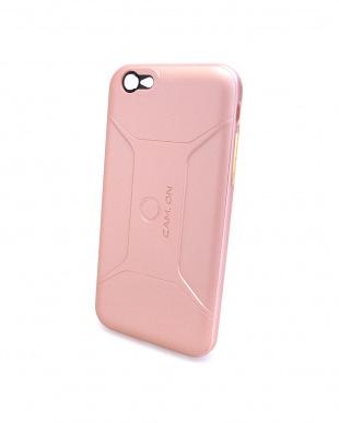 ローズゴールド  SMART EDITION CASE for iPhone6/6S スマホケース&レンズ セット見る