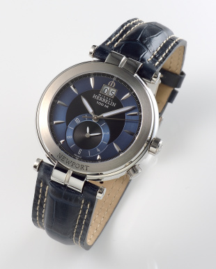 ブラック/ネイビー Newport Yacht ClubDual Time 18466/65 WATCH|MEN見る