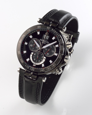 ブラック/ブラック Newport Yacht Club Chronograph 36655/NN14 WATCH|MEN見る
