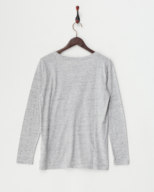 HEATHER GREY WREN L/S SCOOP見る