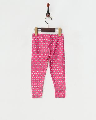 ピンク  リボンスパッツ見る