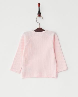 ピンク  ケーブルSTR ベビーL/S Tシャツ見る