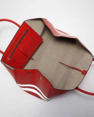 Flame Red Ebury Maxi FW Stripes Bag見る