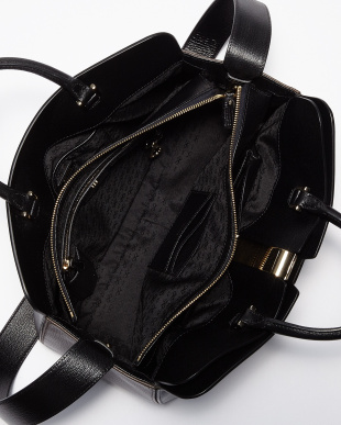 Black  Capra Albion Top Handle Bag見る