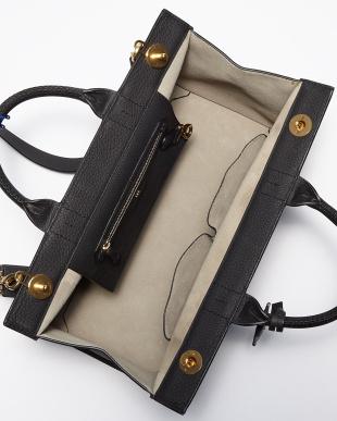 Grey White  Ephson Top Handle Bag見る