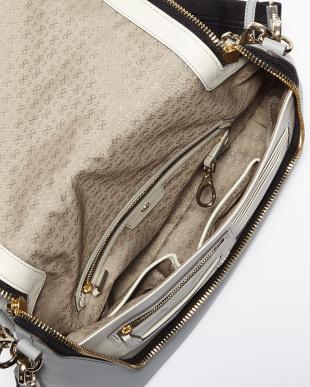 Light Blue Maxi Zip Satchel Arrows Bag見る
