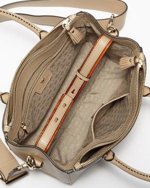 Light Nude Capra Ebury Soft Side Wink Mini Bag見る