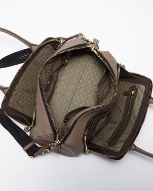 Black  Maxi Zip Top Handle Small Bag見る