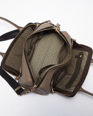 Medium Grey  Maxi Zip Top Handle Small Bag見る