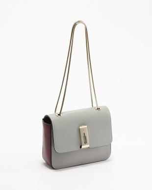 Light Blue  Albion Small Shoulder Bag B見る