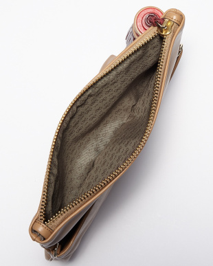 Nude Architectural Clutch Bag見る