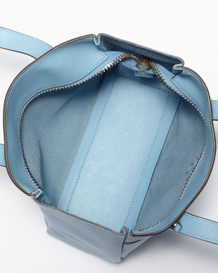 Coral  Nevis Raw Zipped Mini Bag見る