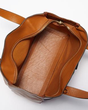Orange Nevis Raw Zipped Small Bag見る