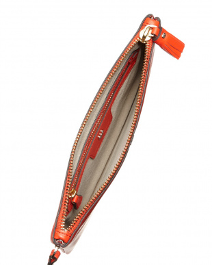 Flame Red  Zip Top Pouch Wink Bag見る