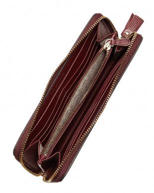 Medium Red Large Zip Round Wallet No Smoking見る