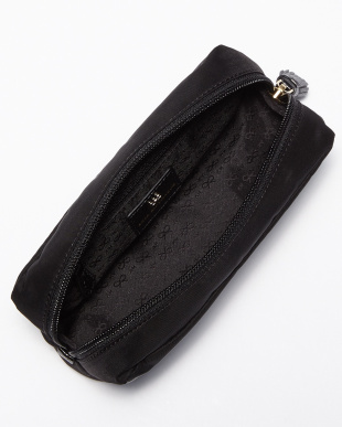 Black Make Up Pouch No Entry見る