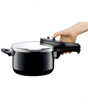 ブラック tプラス圧力鍋4.5L見る
