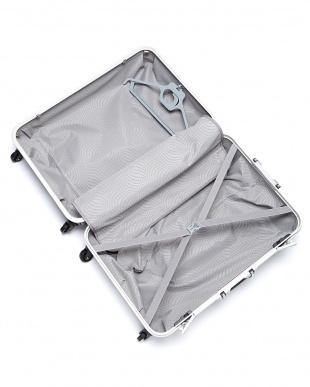 スカイブルー  OVAL SPINNER FRAME 4輪 73cm ハンガー付きスーツケース見る