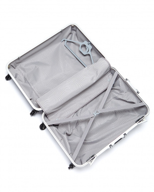 チャコール  OVAL SPINNER FRAME 4輪 73cm ハンガー付きスーツケース見る