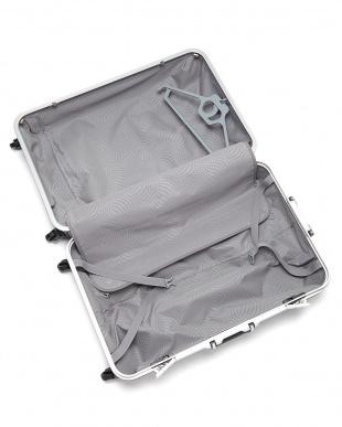 パープル  OVAL SPINNER FRAME 4輪 78cm ハンガー付きスーツケース見る