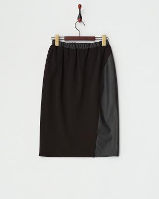 BLACK OLEUM Jersey Skirt・MARINA SPORT見る