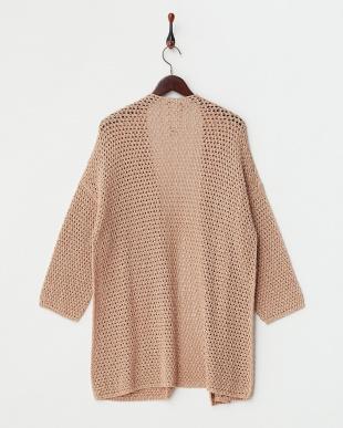 PINK MARLENE Knitted Jacket・ラメ混見る