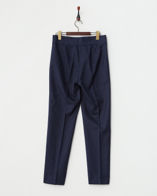 MIDNIGHT NAVY RIMINI Long pants・ストレッチ見る