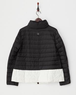 ブラック×ホワイト PAMIR Quilted Jacket・ダウン見る