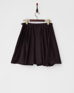 ブラック ギャザースカート見る
