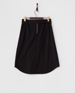 ブラック  ラウンドヘムスカート見る