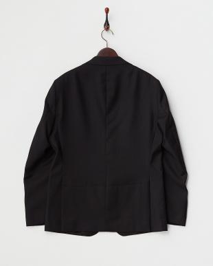 ブラック ブッチャー織柄2Bジャケット見る