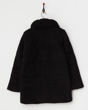 BLACK MID  ウール混ボリュームネック中綿コート見る