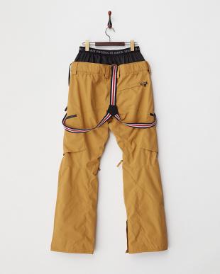 キャメル  Suspender Pants│MEN見る