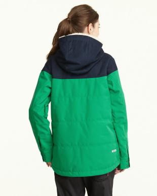 グリーン  Work Mix Jacket見る