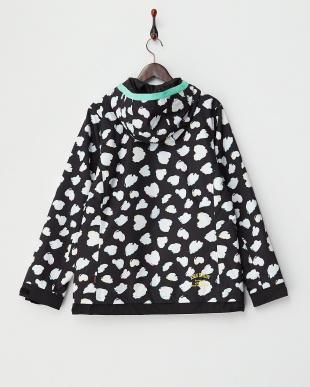 ブラック  Heart Dalmatian Jacket見る