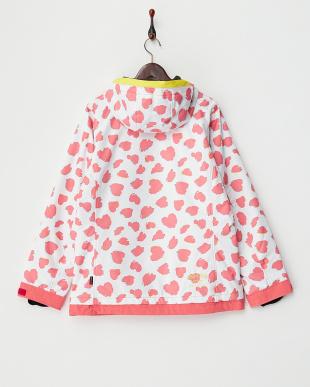 ピンクホワイト  Heart Dalmatian Jacket見る