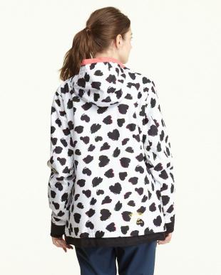 ホワイト  Heart Dalmatian Jacket見る