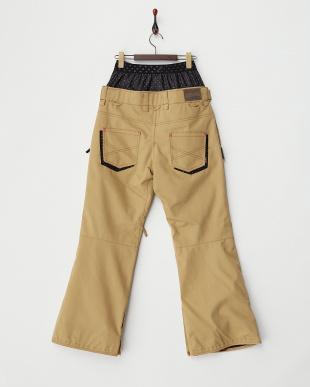 ベージュ  X-Denim Pants見る