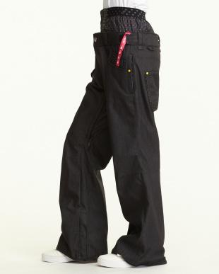 ブラック  X-Denim Pants見る