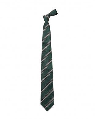 グリーン×ホワイト  OPER/4 ネクタイ A見る