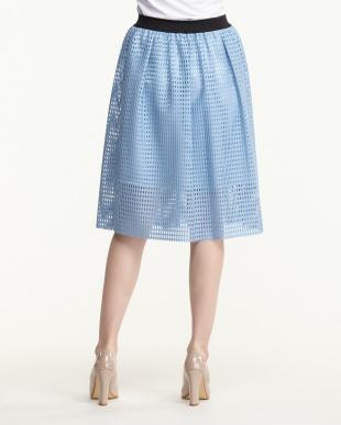 BLUE メッシュスカート見る