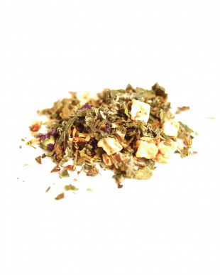 TEA TOTAL HERBAL TEA LEMON BALM&ST JOHNS WORT RELAX(缶入り70g)見る