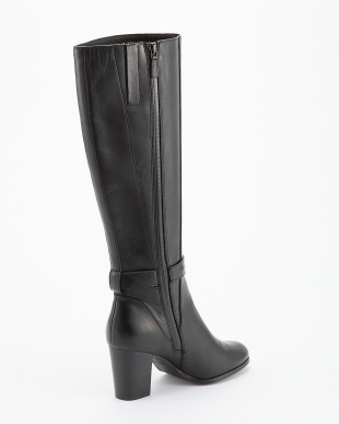 BLACK  LEATHER CASSIDY WATERPLOOF  BOOT見る