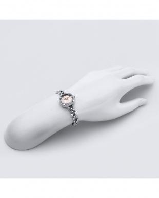 シルバー  For Heart 腕時計見る