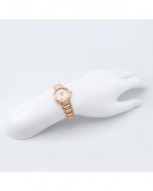 ピンクゴールド Platinum Label 腕時計見る
