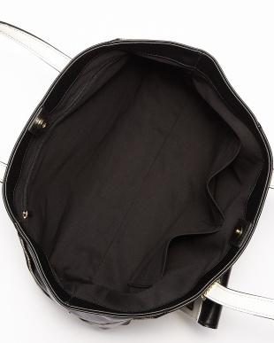 ブラック  サイドZIPトートバッグ見る