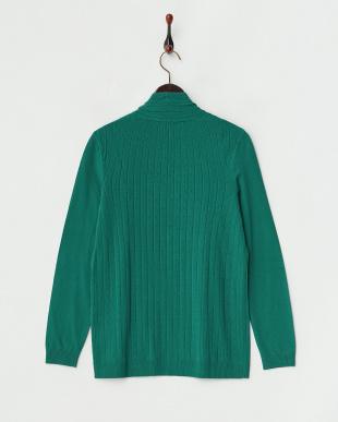 グリーン MERINGA Knitted Jacket・カーディガン見る
