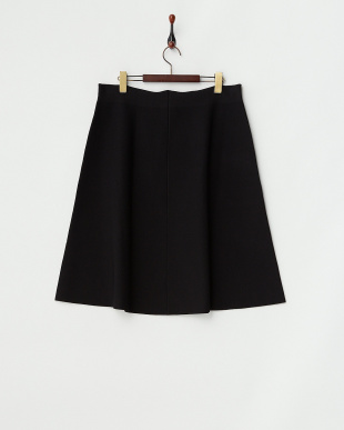 ブラック  GABBIANO Knitted Skirt見る