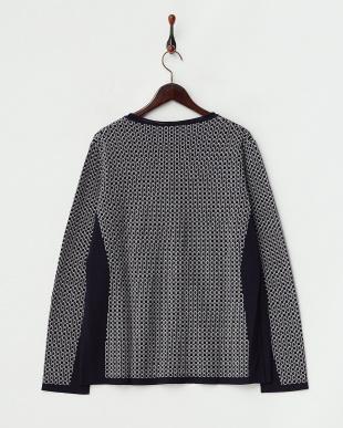 ネイビー系  MACULATO Knitted Jacket・カーディガン見る