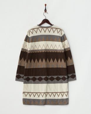 ブラウン系  MAGDA Knitted outerwear見る